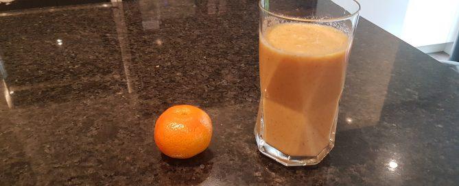 Golden Orange Smoothie Recipe