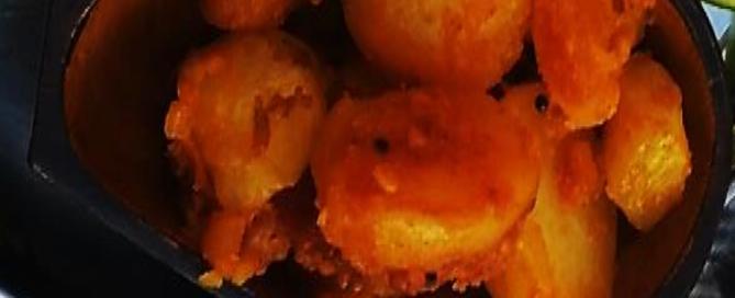Dry Potato Curry