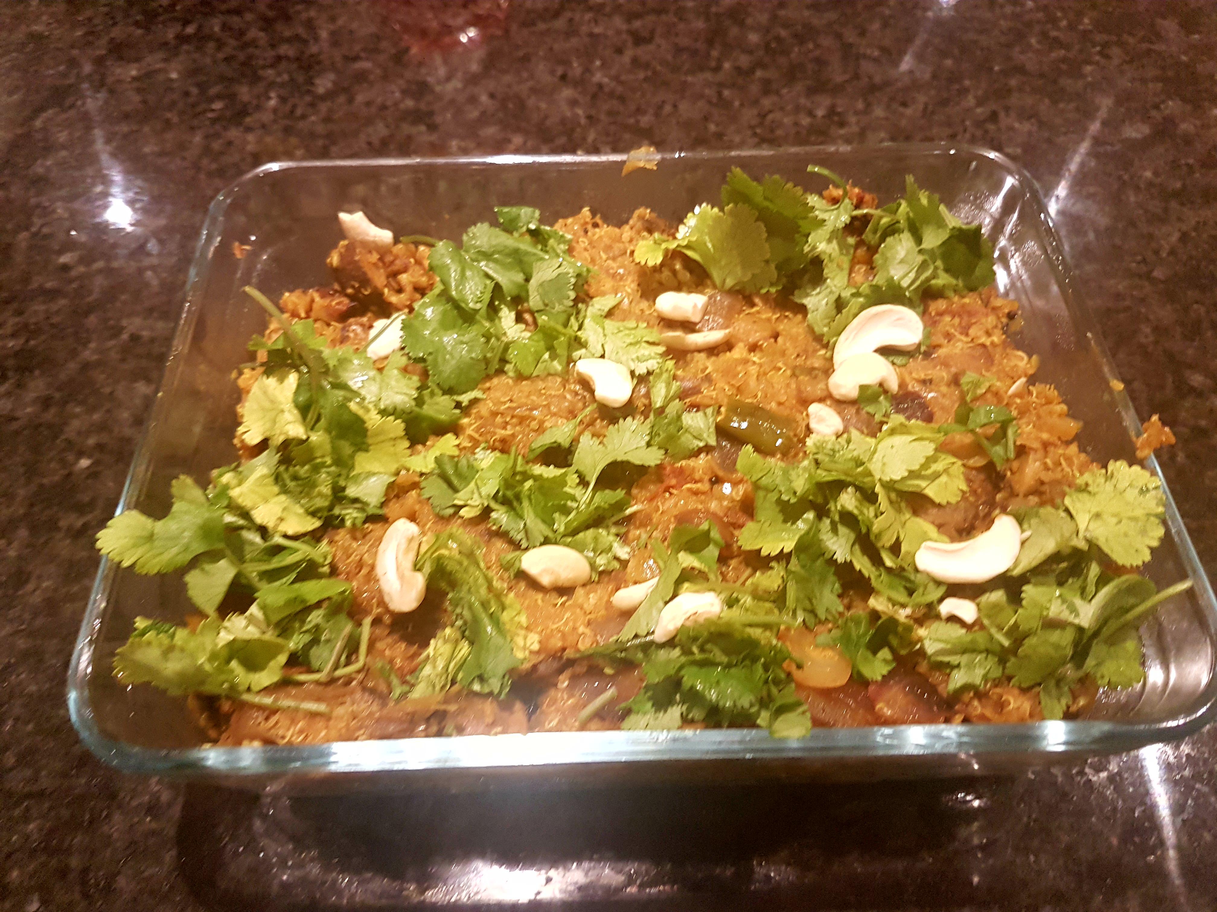 Quinoa Leftover Casserole