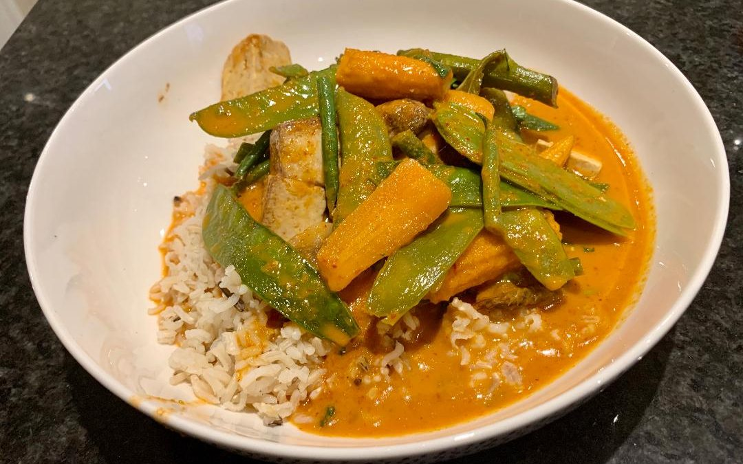 Malaysian Sweet Penang Curry